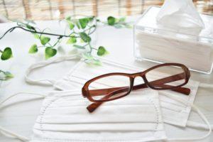 春 花粉症対策のメガネ&マスク